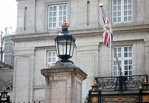 イギリス大使館 外灯リニューアル